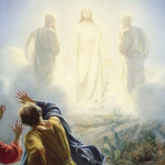 Transfiguration of Jesus by Carl Heinrich Bloch