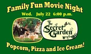 July Family Movie Night