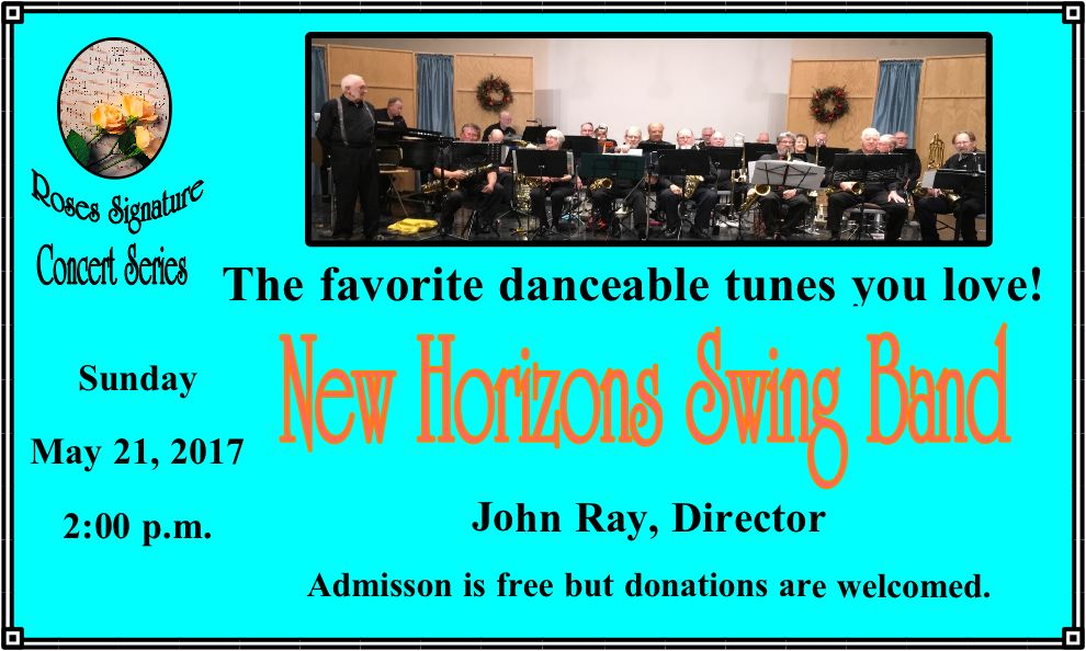 May 21- New Horizons Concert