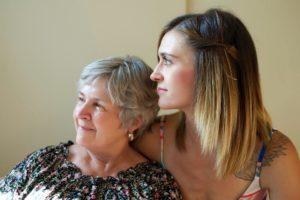 two women widows